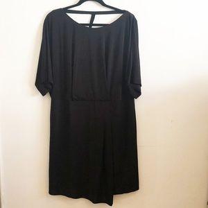ABS Stretch Jersey Draped Dress